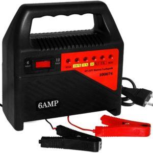 Batterieladegeraet mit 6V und 12V